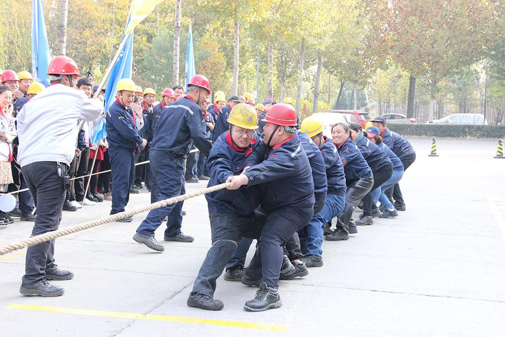 2018奋进杯运动会-拔河比赛