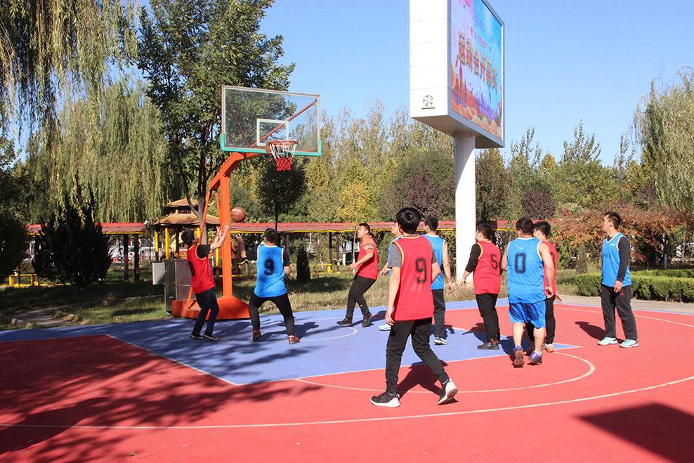 2018奋进杯运动会-篮球赛