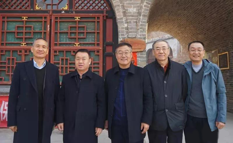 Chairman wang chunxiang and his delegation went to fenghuang mountain, xinzhou, shanxi for investiga