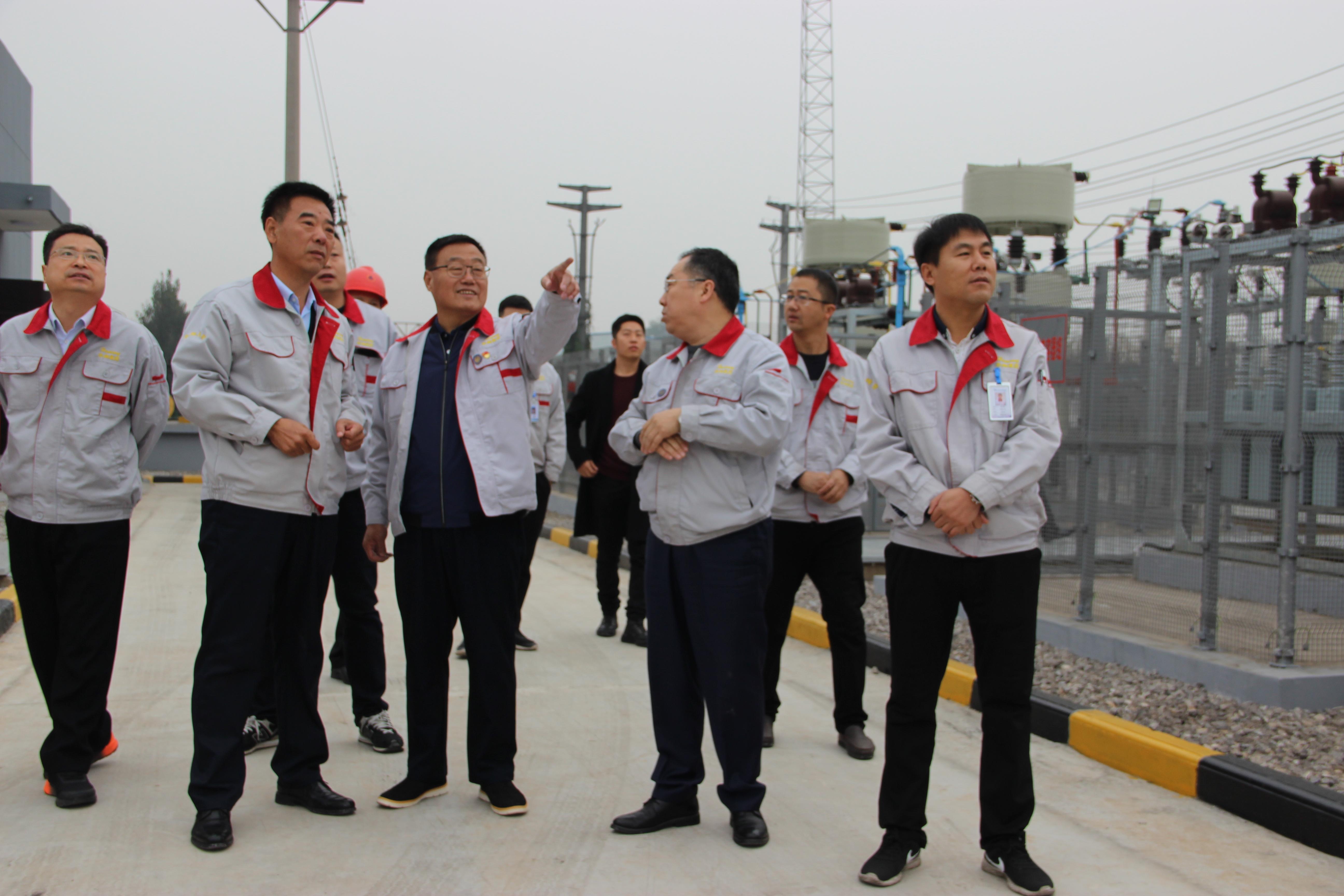 华翔集团35KV变电站投运启动仪式