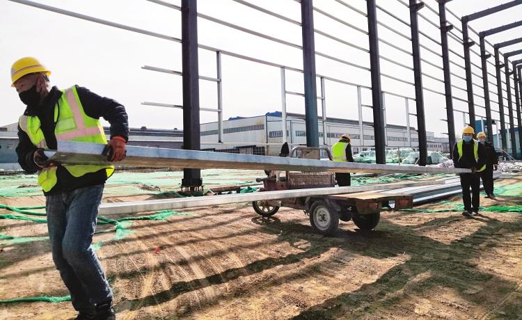 山西华翔智能制造产业园(一期)建设项目:防控预案到位 年底投产目标不变